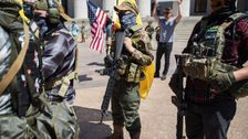 Report: Right-Wing Militia Groups 'Pose A Serious Threat' To Voters