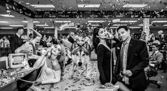Photo of real-life 'Wolf of Wall Street' sells for $200K