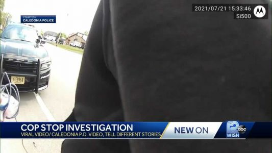 Man posts viral video of Caledonia traffic stop, police post body cam footage in response