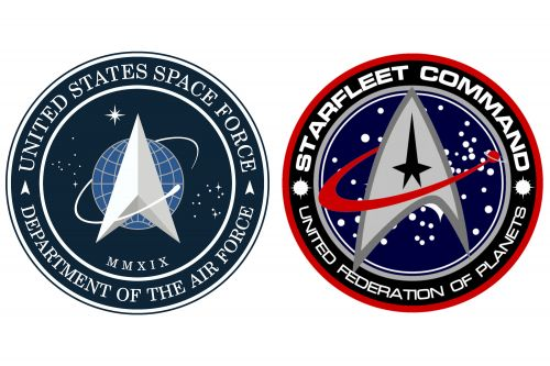 Trump's new Space Force logo bears strong resemblance to Star Trek emblem