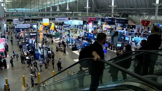 Thousands travel to Boston to attend medical conference
