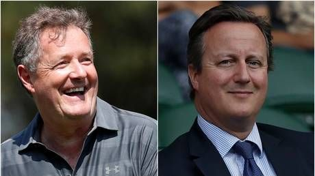 Piers Morgan slams 'disgraceful' ex-PM Cameron for reportedly trying to cash in on pandemic as lobbying row deepens