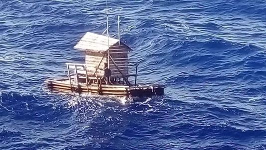 'I just prayed every day': Teen survives 49 days at sea on a floating fishing trap