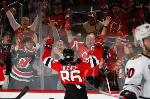Devils' Jack Hughes emerging as option for Team USA at Olympics