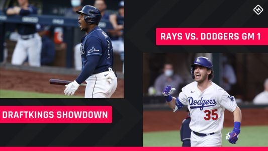 World Series DraftKings Picks: MLB DFS lineup advice for Game 1 Dodgers-Rays Showdown tournaments