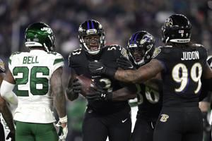 Ravens playing their best, soaring toward No. 1 seed in AFC