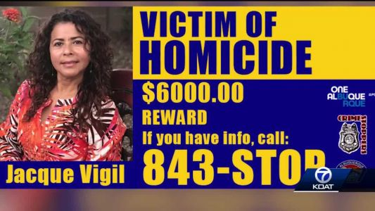 Big reward for someone who helps find murderer