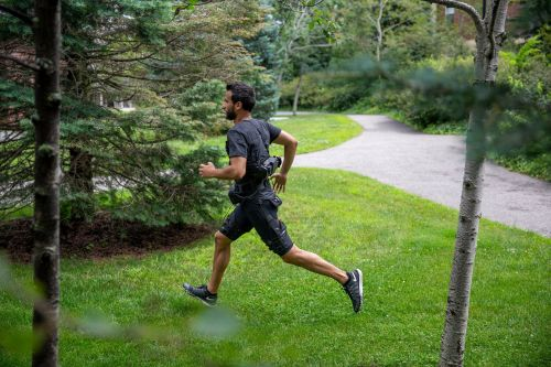 Robotic exosuit designed to boost endurance when walking and running