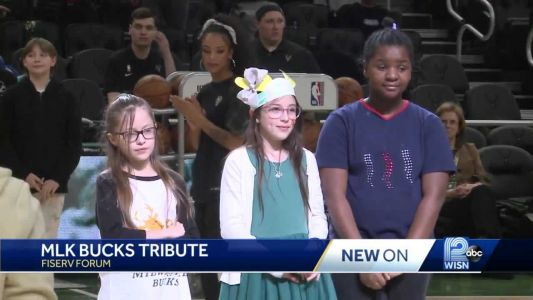 Milwaukee Bucks acknowledge MLK speech winners