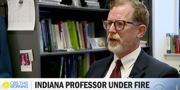 Indiana University admits a professor has 'racist, sexist, and homophobic' views but say they can't fire him because of the First Amendment