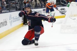 Laine's overtime goal lifts Blue Jackets over Islanders 3-2