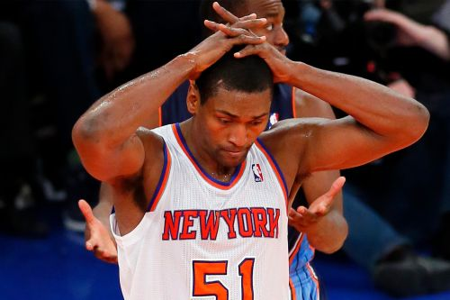 Metta World Peace's campaign for Knicks job ends quickly