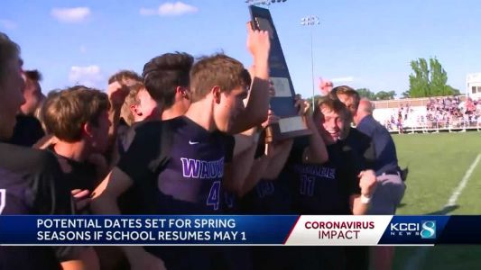 Spring sports schedules are in place if school returns