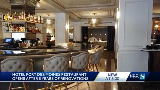 Take a look inside Fort Des Moines Hotel's new restaurant