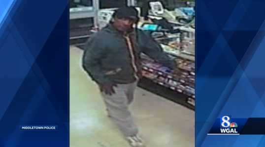 Police look for man who held up convenience store at knifepoint
