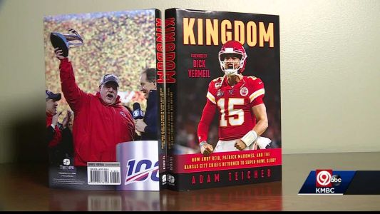 Book gives new perspective on Chiefs run to the Super Bowl