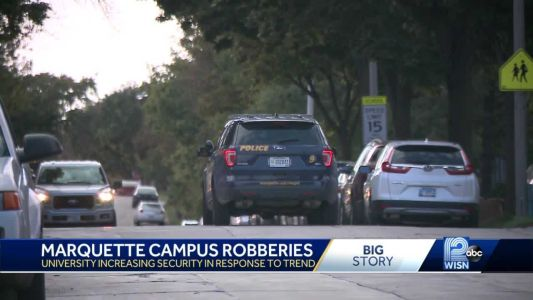 Back-to-back armed robberies reported on Marquette campus, police add patrols