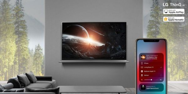 LG TVs will start getting Apple Airplay 2 and HomeKit on July 25