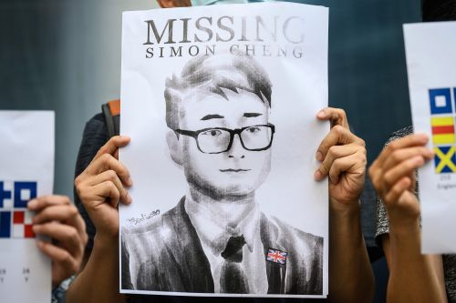 British consulate staffer Simon Cheng held in China for soliciting prostitute: report