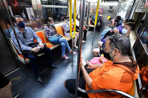 Only one person has been fined in the MTA's mask crackdown