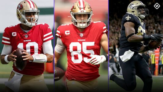 Fantasy Injury Updates: Jimmy Garoppolo, George Kittle, Jared Cook impact Week 4 fantasy lineup decisions