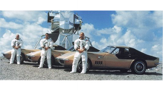 Apollo Astronauts and Fast Cars: Corvette, Scott Kelly Look Back at the AstroVette