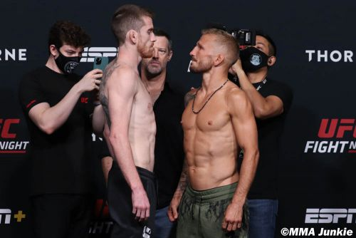 T.J. Dillashaw reveals injury-plagued UFC on ESPN 27 camp, refused to withdraw: 'It had been too f-ing long'