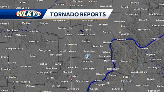 Two tornadoes touch down in southern Indiana