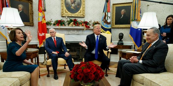 Trump signals government shutdown will 'go on for a while' after Pelosi cancels State of the Union address