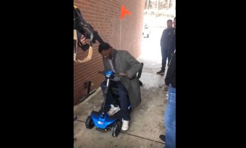 Man with cerebral palsy gifted new scooter after story of being struck by car sparks outrage