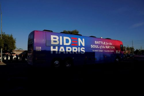 Officials: Biden campaign event canceled in Texas after President Trump supporters surround bus
