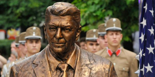 Reagan just got a statue in Germany to mark 30 years since the Berlin Wall fell. Here are 15 other unexpected places where statues of US presidents can be found