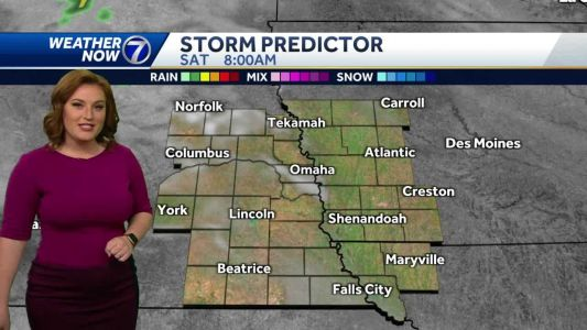 Bright and mild Friday, cooler and damp Mother's Day weekend