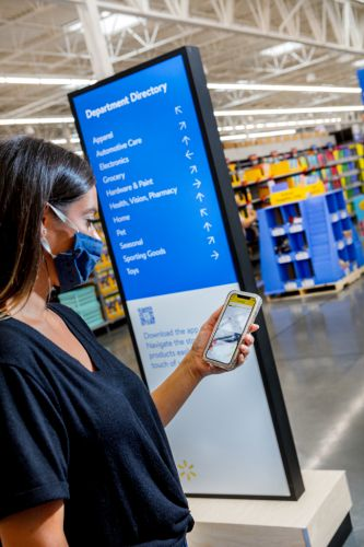 Walmart unveils new store design inspired by Amazon and airports