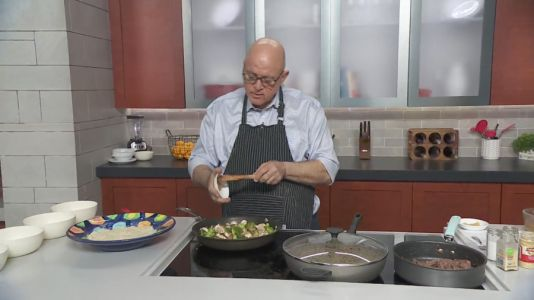 Dean shares his recipe for easy, delicious beef and broccoli