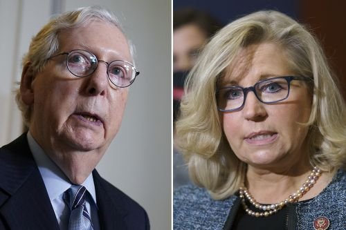 Mitch McConnell is staying out of House GOP's brawl with Liz Cheney