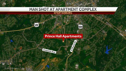 Man taken to hospital after shooting in apartment complex parking lot, police say