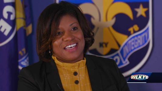 One-on-one with LMPD's next interim chief, Yvette Gentry