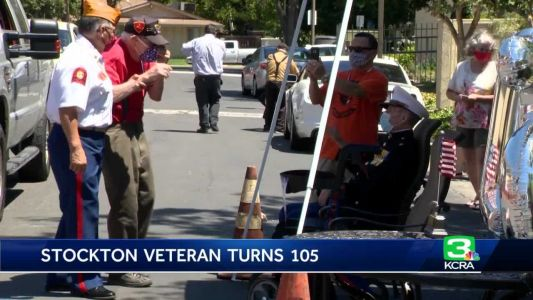 Oldest living Marine celebrates 105th birthday