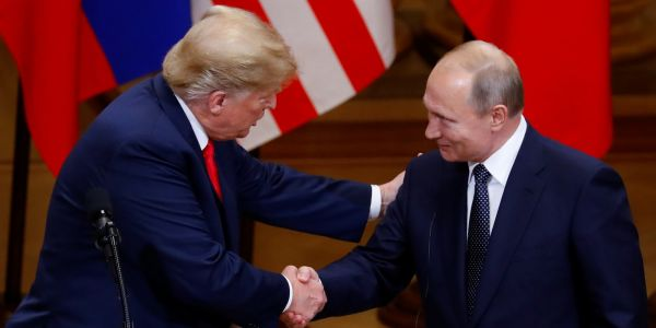 'The Fake News is going Crazy!': Trump says his meeting with Putin was better than the one he had with NATO