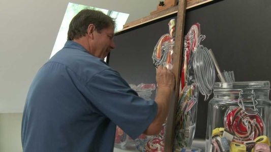 NH Chronicle: The super realistic paintings of artist Allan B. Hall