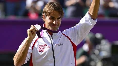 Going for gold: Roger Federer announces his intention to play in the 2020 Olympic Games in Tokyo