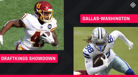 Thanksgiving DraftKings Picks: NFL DFS lineup advice for Week 12 Cowboys-Washington Showdown tournaments
