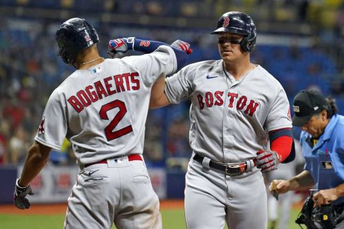 Four-run 11th launch Red Sox over Rays in series opener