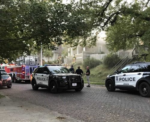 Omaha Police: House catches fire during domestic disturbance