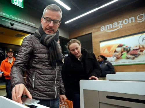 Amazon opened its first physical store outside the US. The London, UK, store uses weight sensors to detect what customers pick up, and bills their card automatically