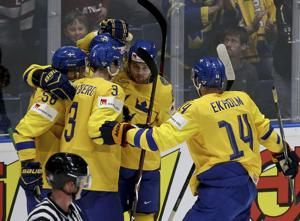 Canada shuts out Denmark, Austria relegated at hockey worlds