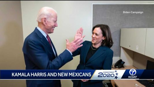 Will Kamala Harris sway New Mexicans to vote for Joe Biden?