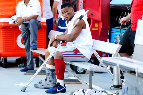 Saquon Barkley will miss several weeks with ankle injury