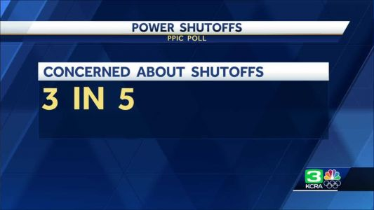 PPIC poll: Most Californians concerned about power shutoffs